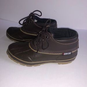 Mens bluefin steel shank duck shoes Baffin